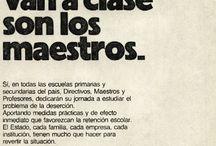 Década del '80 / Campañas gráficas realizadas por el Consejo Publicitario Argentino en los años '80.