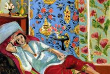Looking at Art: Matisse v. Wyeth / Compare how the two women are portrayed. Look at use of color, space, pattern. Look at the subject and how they interact with us, the viewer.  Which expresses ease and luxury? Which expresses longing and struggle?  Who do you relate to, or feel for? Why?