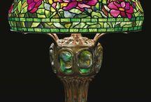 Art Glass & Tiffany Lamps