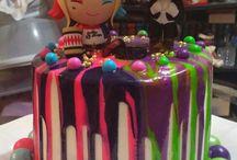 Scarletts B'Day Cake Idears