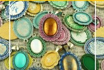Czech Patina Settings For Cabochons