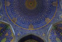Colour mosiac tiles design