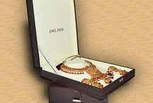Jewellery Packaging / Jewellery Boxes, Pouches, Pearl Folders, Zippered Jewellery Cases, Gift Items.