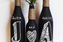 decoración botellas,copas..