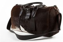 3.7.6. Weekender Bag VRG91 (314823) / Brown cow's hide and brown natural leather, brown fabric inside Size (mm) 540 x 230 x 300 www.376style.com