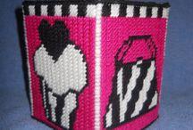 Plastic Canvas Tissue Boxes / by Shari Figgins