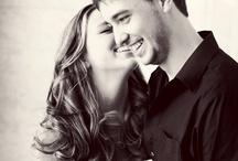 engagement photos/ wedding invites