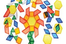 Geometry, shapes, pattern blocks