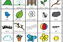 undervisning engelsk bingo ,småskole