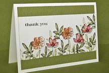 BOTANICAL BLOOMS - stampin up / by Karen Withrow