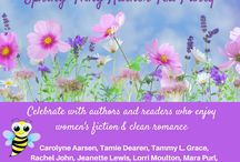 Spring Fling Author Tea Party March 20, 2018 / Celebrate the season with a group of authors who enjoy women's fiction and light romance stories.  Fun, chats, and prizes galore.  https://www.facebook.com/events/179919269442694/