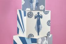 Art Deco Inspired Cakes - We Love These!