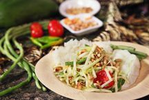 Thai Cooking / Want to learn more and how to make these…join me at www.craftsy.com and with this link you get a 25% discount on the class  www.craftsy.com/ext/thaiessentials25  / by Robert Danhi