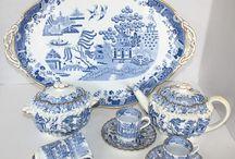 China and ceramics cabinet