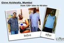 Before and after weight loss surgery / Our patients