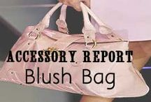 Blush Accessories / Blush Accessories // http://www.missesdressy.com/blog/accessory-trend-the-blush-bag.html