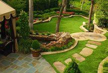 Ландшафтный дизайн для нашего дома
