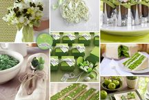 Green Themed Wedding / Inspiration and ideas for a St. Patric's/Green themed wedding.