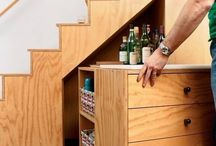 Bar Ideas - Under Stairs etc