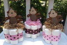 diaper cake ideas / by trimika cooper