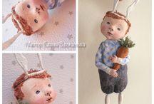 Куклы по МК Елены
