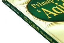 Buku Aqidah / Buku yang menjelaskan aqidah-aqidah Islam dan penjelasannya