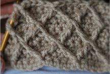 Crochet the Honeycomb Lattice Stitch Pattern - Tutorial / Crochet the Honeycomb Lattice Stitch Pattern - Tutorial / by Strawberry Couture Etsy Unique Crochet and Knit Hats Scarves Patterns