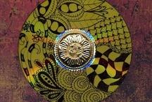 Zentangle on cd