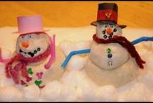 Snow/Winter Fun / Snow/winter themed activities