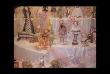 Výstavy uměleckých panenek - Exhibition of art dolls