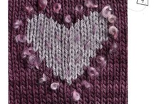Red Barn Yarn Boucle Project Inspiration / Project ideas for using boucle yarn, Red Barn Yarn's Big Boucle, Curly Locks, Boucle Sparkle and Silk Boucle