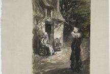 L'Art Fantastique / Mondes imaginaires, créatures fabuleuses et atmosphères étranges dans l'art en France et chez les artistes français, au XIXe siècle et jusqu'au début du XXe.