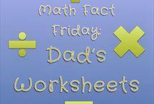 Math Fact Friday!