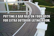 Deck / verandah / DIY deck, design and build ideas