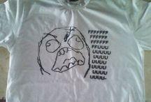 Memes / Estampas e camisas de memes...