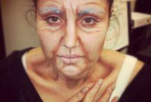 Ageing make-up