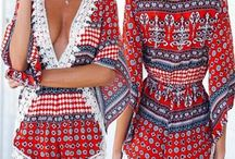 Romantic/ Ethnic Wardrobe