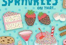 Inspiration - Fun Food Illustrations