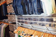 closet organization / by Karen Baker