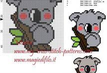 Cross stitch patterns / Cross stitch free baby patterns