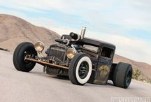 hot rod and rat rod
