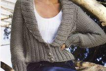 mis lanas / saco tejidos