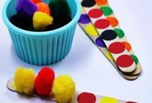 Patterns / Ideas and Inspiration for learning about patterns and teaching patterns to kids!