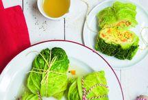 50 recettes au chou / Vert, rouge, kale ou fleur, le chou est un légume qui a de la ressource : riche en vitamines, il est pauvre aussi en calories et bon marché. Avec toutes nos idées de recettes gourmandes, vous n'aurez plus d'excuses à faire chou blanc !