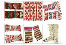 tricot turc Turkish knit Türk örme / tricot