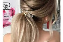 Hair Updos and styling