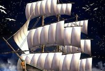 SAILING-SHIPS / so much beauty and elegance in ships appearance
