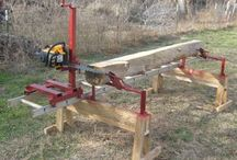 chain saw mill