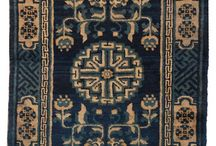 ANTIQUE CHINESE RUG : MYO