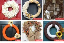 Wreaths for door.